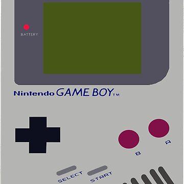 Siloet Game Boy Fan Art by SuperKonata