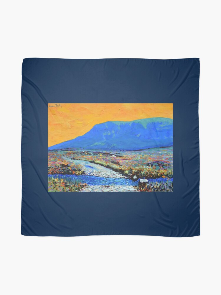 Alternate view of Ford at Muckish (County Donegal, Ireland) Scarf