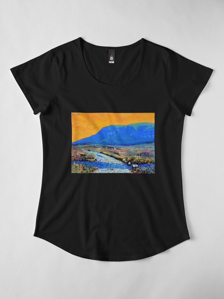 Alternate view of Ford at Muckish (County Donegal, Ireland) Premium Scoop T-Shirt