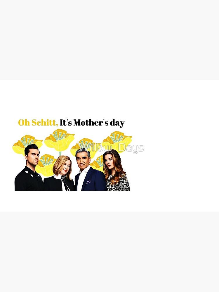 Oh Schitt, es ist Muttertag, glückliche Muttertagskarte, lustige Grußkarte, Aufkleber, Becher, Geschenke der Mutter Tages, Schitts Creek-Mutter-Tageskarte von avit1