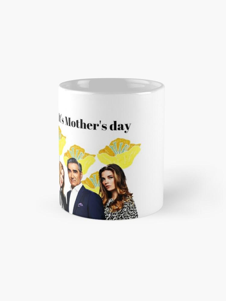 Alternative Ansicht von Oh Schitt, es ist Muttertag, glückliche Muttertagskarte, lustige Grußkarte, Aufkleber, Becher, Geschenke der Mutter Tages, Schitts Creek-Mutter-Tageskarte Tasse