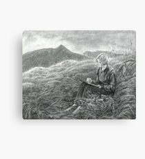 Kate and Catstye Cam Canvas Print