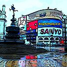 Picadilly Circus by bywhacky