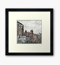 Islington neighbours  Framed Print