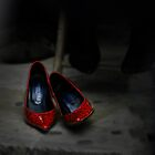 Red Shoes by Christian  Zammit