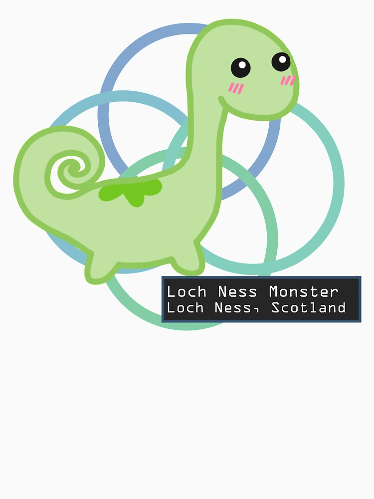 The Loch Ness Monster by shroomsoft