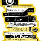 #BOOKSTAGRAM - Stack of Books by mydoodlesateme