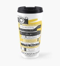 #BOOKSTAGRAM - Stack of Books Travel Mug