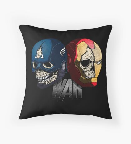 War. Throw Pillow