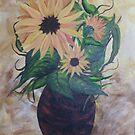 Sunflowers by Cynthia Kondrick