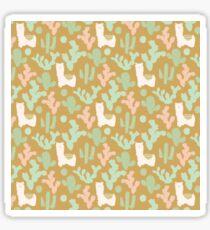 Western Llamas Sticker