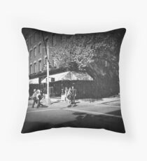 West Village Couples B&W Throw Pillow
