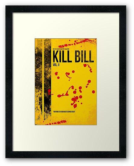 KILL BILL - VOL. II MINIMAL MOVIE POSTER by HDMI2K