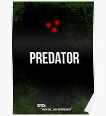 Predator - minimal movie poster Poster