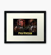 Pulp Fiction - Alternative Movie Poster Framed Print