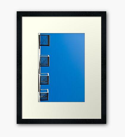 Basket Case. Framed Print