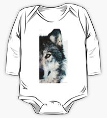 Wolf Art - Timber One Piece - Long Sleeve