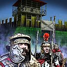Roman Soldiers in Antonine Scotland by Louie Pastore