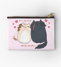 Purr not alone... Neither are mew... Studio Pouch