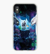 "How to Train Your Dragon 3 ""The Hidden World"" Night/Light Fury #2 iPhone Case"