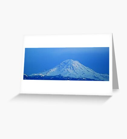 The Glorious Mt. Rainier Greeting Card