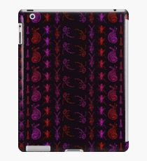 Neon Insect Stripes 2  iPad Case/Skin