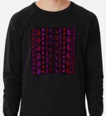 Neon Insect Stripes 2  Lightweight Sweatshirt