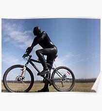 Zentai Bike Rider Poster