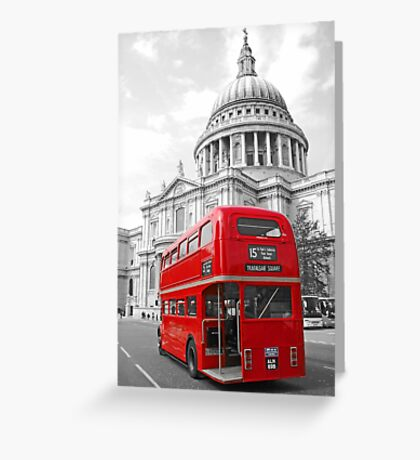 Timeless London Greeting Card