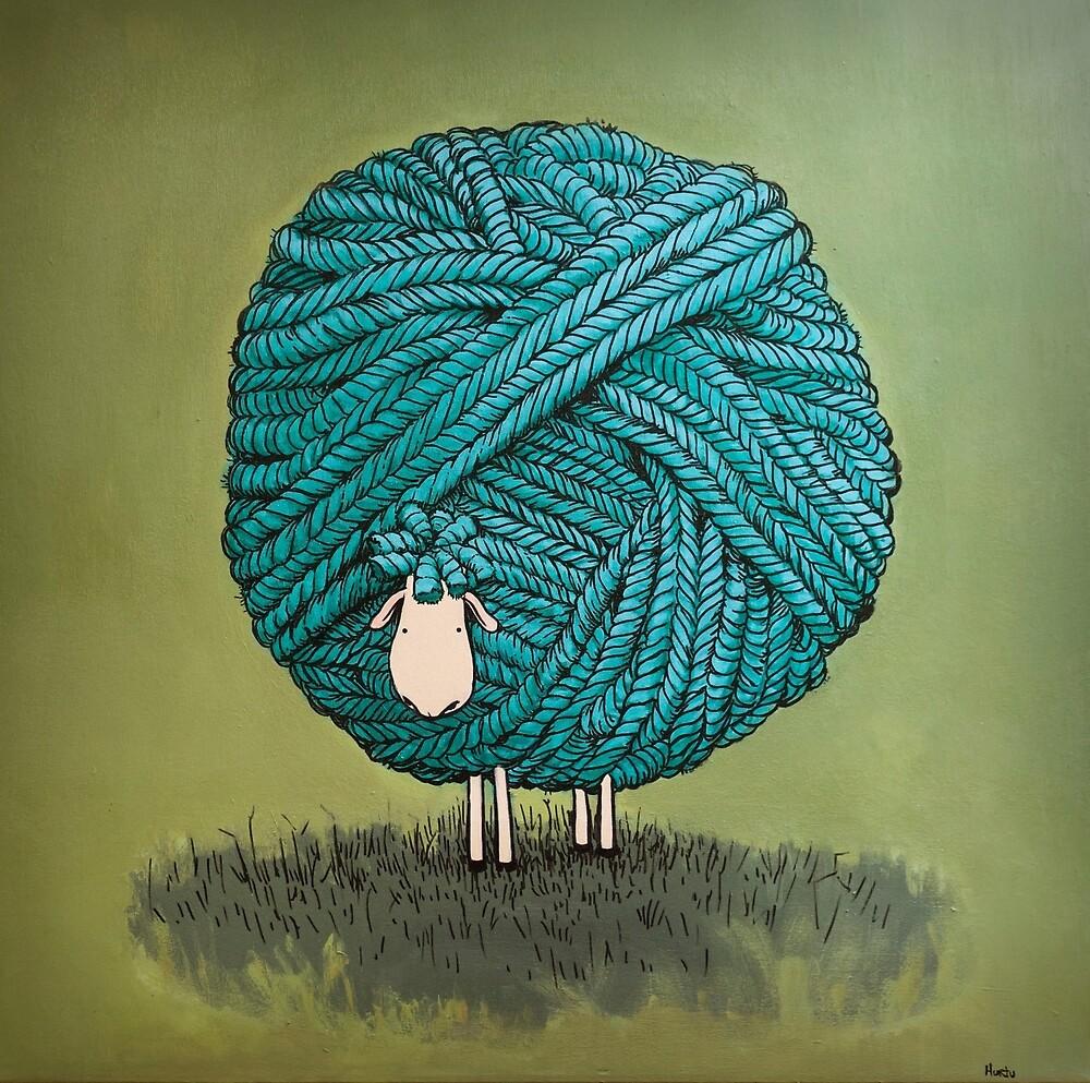 The sheep of wool by Hurtu