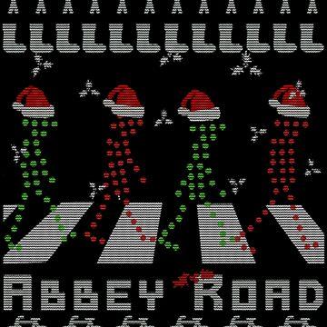 Abbey Road Christmas by NovaPaint