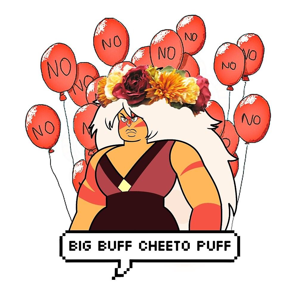 Big Buff Cheeto Puff #1 by astralgabriel
