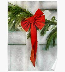 Christmas - Ribbon Poster