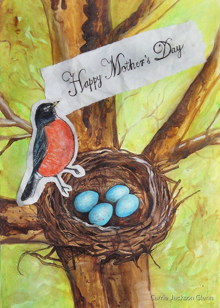 Happy Mothers Day From Red Robin by Carrie Jackson
