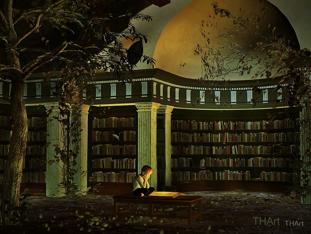 The Library by THArt