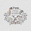 Vegan - Because I actually love animals. by BriVTart