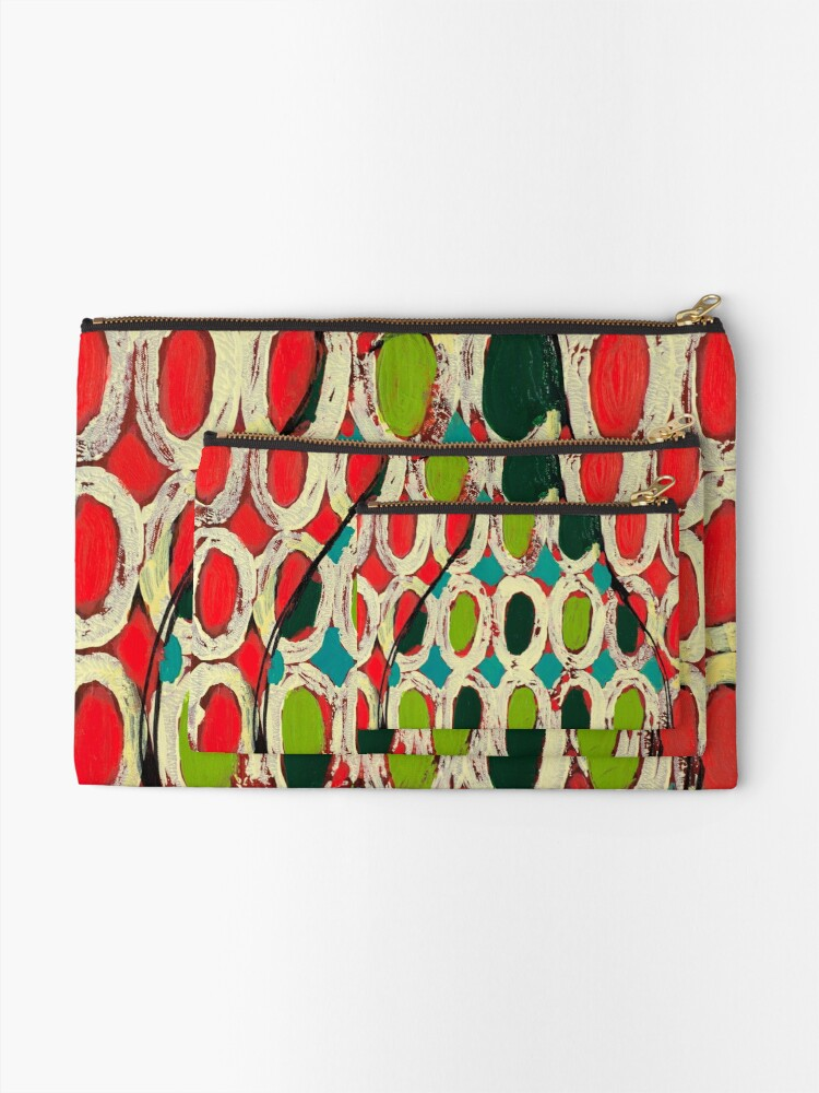 Alternate view of Best Apple Ever Zipper Pouch