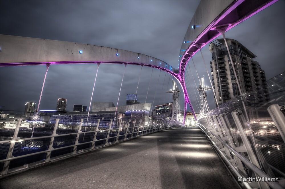 Lowry Bridge Salford Quays by MartinWilliams