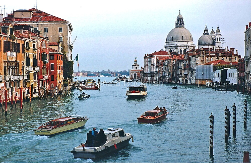 Grand Canal Venice Italy by Ronald Rockman