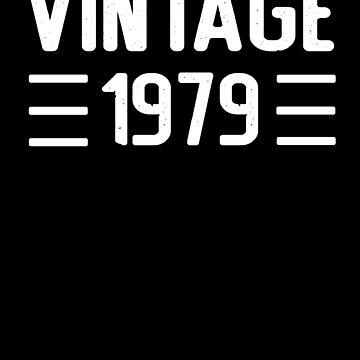 1979 vintage RETRO birthday by Mmastert