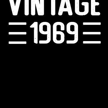 1969 vintage RETRO birthday by Mmastert