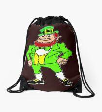Leprechaun T Shirt For Men, Women And Kids. Drawstring Bag