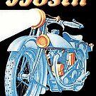 Vintage Bosch Motorcycle Headlights  by edsimoneit