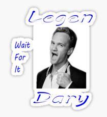 Legen-Dary Sticker
