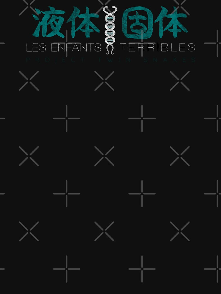 Metal Gear Solid - Les Enfants Terribles - Teal Dirty by garudoh