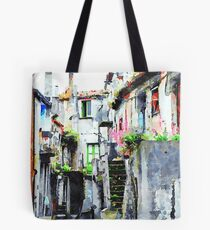 Buildings of the historic center Tote Bag