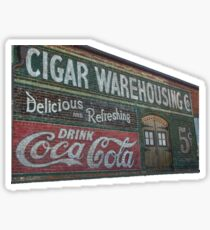 Pegatina Almacén de cigarros