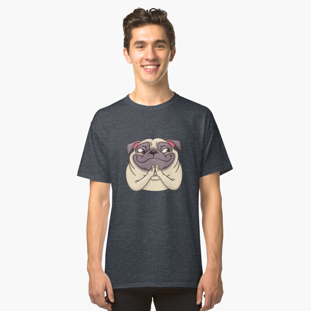 ★ Puppy |  Pug Classic T-Shirt Front