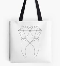 Geo Tooth Tote Bag