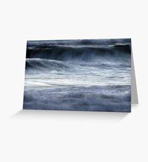 shifting seas Greeting Card